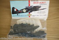 1960 Airfix 1/72 Scale Boulton Paul Defiant (bagged kit) First Release Kit