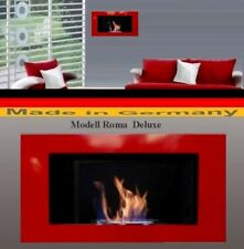 Fireplace Roma-Deluxe-Red for Gel or Ethanol / Made in Germany / fire place bio