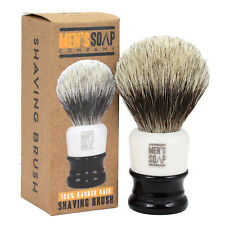 100% Pure Badger Hair Shaving Brush, 2 Inch Handle, 24mm Knot