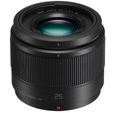 *New* Panasonic Lumix G 25mm F/1.7 Asph Micro 4/3 MFT Lens