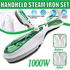 1000W Electric Steam Iron Hand Handheld Fabric Laundry Steamer Brush Travel USA