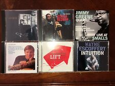 Jazz tenor 6CD LOT: Redman, Greene, Potter, Escoffery