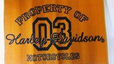 "Harley Davidson 20"" x 30"" rug carpet man cave decor door floor mat NEW"