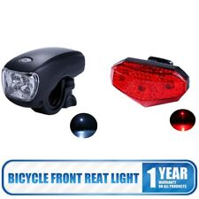 3 LED Front Rear Tail Light Set Mountain Bike Bicycle Cycling Safety Waterproof