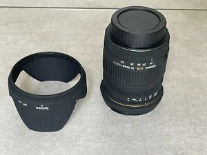 Sigma EX DC 18-50mm f/2.8 Lens Canon EF Beautiful, barely used.