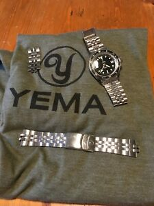 YEMA Superman Heritage 39mm Diver Watch Auto French