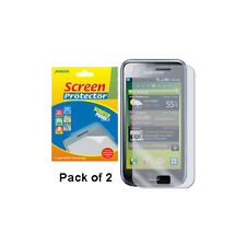 AMZER Clear Screen Guard Protector Shield - Pack of 2 For Samsung Galaxy S i9000