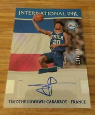 TIMOTHE  LUWAWU CABARROT  2016-17  AFICIONADO  INTERNATIONAL INK  RC  AUTO / 249