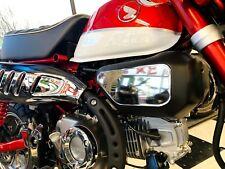 Fit Honda Monkey 125  2019 Chrome mirror sides panel air filter covers trim kit