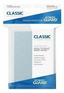 100 Ultimate Guard Card Classic Soft Sleeves Penny 66x93mm Schutzhüllen Karten