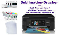 T-Shirt Drucker Sublimation Drucker Tassendruck Sublimationsdruck mini Ciss