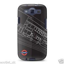 Cygnett nightbus metro de Londres Funda para Samsung Galaxy S III - negro NUEVO