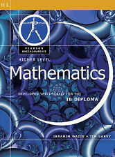 Pearson Baccalaureate: Higher Level Mathematics for the IB Diploma (Pearson Inte