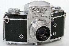 Exakta VX IIa 35mm Camera 853854 With Ludwig Meritar 50mm f2.9 Lens