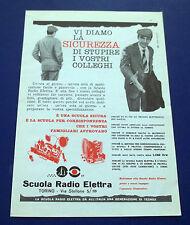 A605-Advertising Pubblicità-1960-SCUOLA RADIO ELETTRA