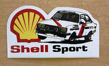 Coquille sport FORD ESCORT MK2 RALLY / course / motorsport autocollant decal