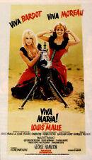 Viva Maria Brigitte Bardot Jeanne Moreau movie poster  print 2