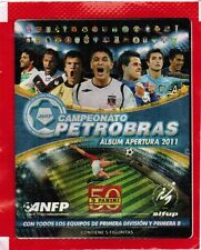 Chile 2011 Soccer Cup Panini Campeonato Petrobras Pack (5 stickers)