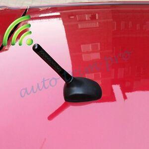 Vehicle Parts Carbon Fiber Radio FM AM Screw Antenna Aerial Amplifier Booster