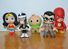 DC COMICS FUNKO MYSTERY MINIS VINYL ACTION FIGURE LOT WONDER WOMAN FLASH