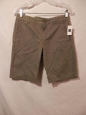 Gap Boyfriend Shorts Women's  size 00 NWT Khaki green
