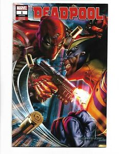 Deadpool #1 Greg Horn Exclusive Wolverine Variant Marvel Comics