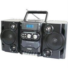 Naxa Portable Cd-mp3 Player With Am-fm Radio, Detachable Speakers, Remote & U.