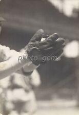 1920 Tris Speaker Fielding Close Up Original News Service Photo