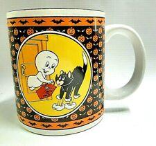 Casper The Friendly Ghost Halloween 1986 Coffee Cocoa Mug Tea Cup Ceramic