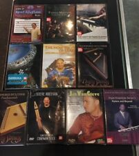 Read Rhythms, Organ Course, Darbuka, Udu, Chapman Stick, and More Musical DVD's,