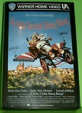 Tschitti Tschitti Bäng Bäng (VHS Kassette) Dick Van Dyke, Sally Ann Howes,...
