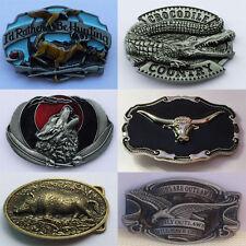 Fashion Cowboy Multi Animal Zinc-Alloy Pin Buckle For 38-40mm Belt