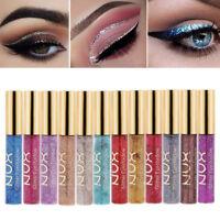 12 Colors Glitter Shimmer Liquid Eye Shadow Waterproof Eye Shadow Eye Makeup