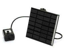 Solar Panel Power Submersible Fountain Pool Pond Garden Water Pump Kit Outdoor E