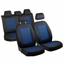 Schwarz-Blau Effekt 3D Sitzbezüge für RENAULT MEGANE Autositzbezug Komplett