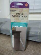 KidCo Anti-Tip Furniture Strap White 2 Pack