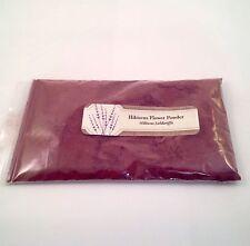 1 oz. Hibiscus Flower Powder (Hibiscus Sabdariffa) <28 g / .063 lb>