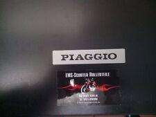 Plakette Kaskade Piaggio Vespa PK Aufkleber Emblem Schriftzug Schild Metall NEU
