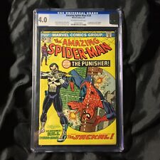 🔥Amazing Spiderman 129 1st Appearance of The Punisher CGC 4.0🔥🔥🔥🔥🔥🔥🔥🔥🔥