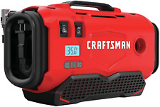 CRAFTSMAN Cordless Air Inflator V20, Tool Only, CMCE520B for Tire, Mattress *NEW