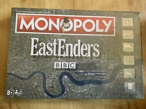 Hasbro MONOPOLY EASTENDERS BOARD GAME BBC TV BRAND NEW SEALED RARE