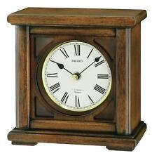 Seiko Wooden Desk, Mantel & Carriage Clocks