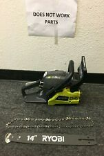 RYOBI 14 in. 37cc 2-Cycle Gas Chainsaw w/ Blade Cover -Model# RY3714 PARTS T159
