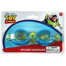 Swim Splash Goggle Disney Toy Story Woody Buzz Boy Age 4+ NEW