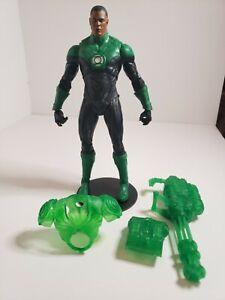 """McFarlane DC Multiverse Green Lantern John Stewart Series 7"""" Action Figure Loose"""