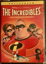 The Incredibles (Dvd, 2-Disc, Fullscreen, Collectors Edition) w/ Slipcover New