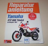 Reparaturanleitung / Hanbuch - Yamaha XTZ 660 Tenere - Enduro - ab Baujahr 1991