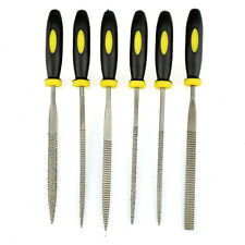 Wood Rasp Set 6pcs Carpenter 3x140mm File Carving Tools Double Riffler Tool WQZY
