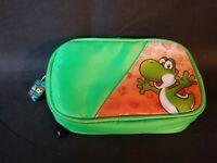 Nintendo DS Bright Neon Green Switch Carry Bag Yoshi High Quality Vtg