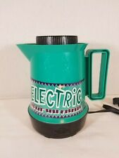 West bend Electric Hot Pot, 5 cups 600 Watts Teal Rare Vintage